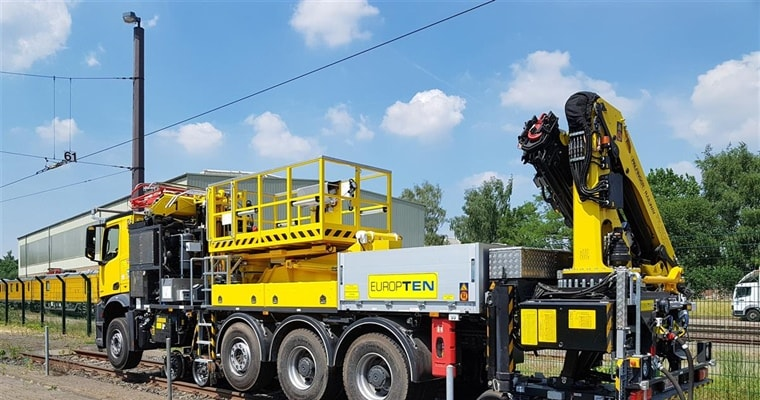 New deliveries – new catenary vehicle for Europten