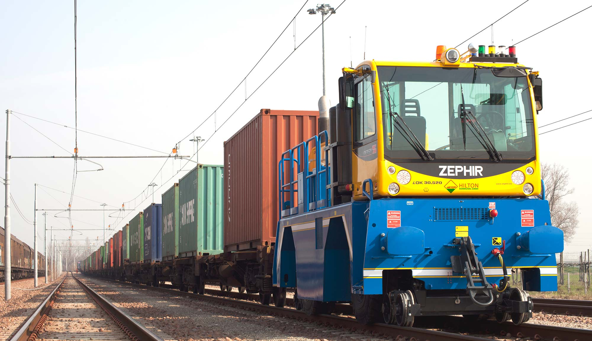 Zephir Shunting Vehicles